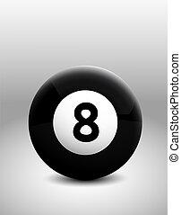 8, bola