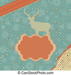 8, design., eps, カード, クリスマス