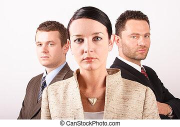 8, equipo negocio