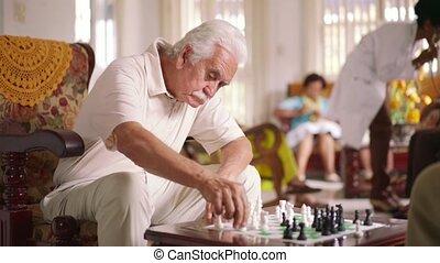 8-hospice, arts, het meten van bloeddruk, om te, oude vrouw