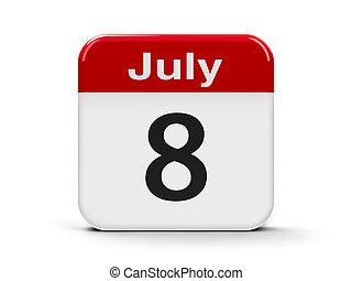8, julio