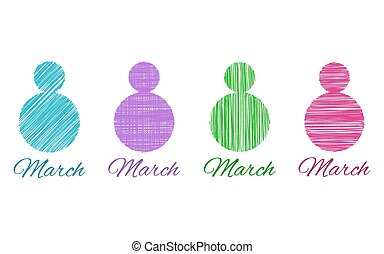 8 March Happy Womens Day