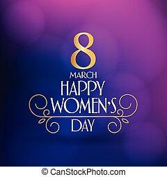 8 March. International Happy Women's Day Celebration. (Turkish: 8 Mart Dunya Kadinlar Gununuz Kutlu Olsun.) Billboard, Poster, Social Media, Story, Wishes Card, Greeting Card, Trendy Design Template.