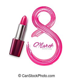 8 march international women day lipstick pomade number. ...