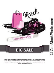 8 March International Women Day Sale Shopping Discount