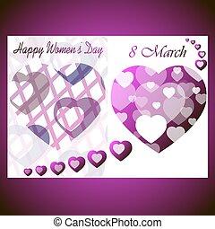 8 March International Women's Day