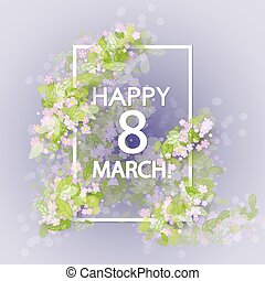 women day vintage background