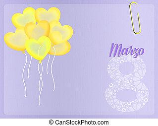 Women's day - 8 March, Women's day