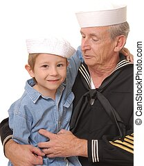 8, marynarz, syn