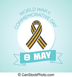 8 may World war II commemorative day