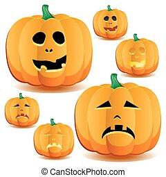 8, pumpor, halloween
