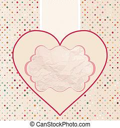 8, valentine, eps, carte, template.