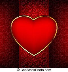 8, valentine, eps, jour, card.