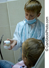 boy wants to be an orthodontist - 8 years old boy wants to...