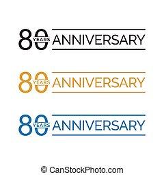 80 anniversary years
