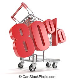80% - eighty percent discount