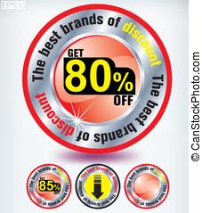 80 percent discount