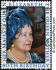 80 th Birthday of Queen Elisabeth II - UNITED KINGDOM -...