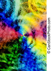 80s Background - Vibrant 80s style tie-dyed grunge...