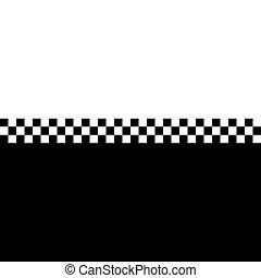 80s Ska Checkerboard - 80s retro checkerboard design with ...