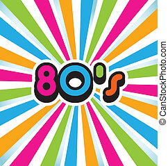 80s, vetorial, arte pnf, fundo