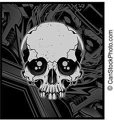 83 skull lone
