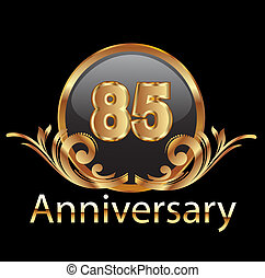 85 anniversary happy birthday