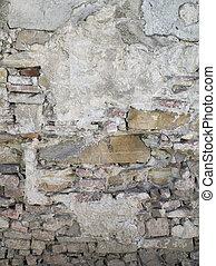 881 old brick wall