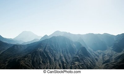 8K Aerial Mountain Landscape in High Altitude - 8K aerial ...