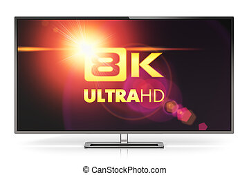 8K UltraHD TV