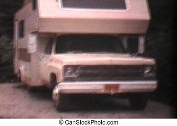 8mm, -1975, feu camp, confection, vendange