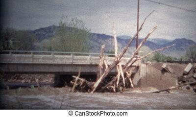 (8mm Film) Boulder Colorado Flood - A unique vintage 8mm...