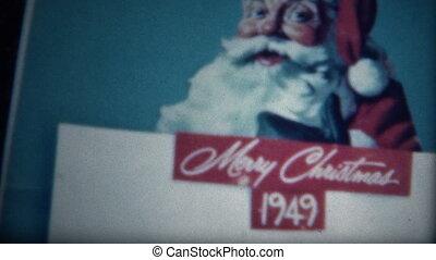(8mm Film) Coke Christmas 1949