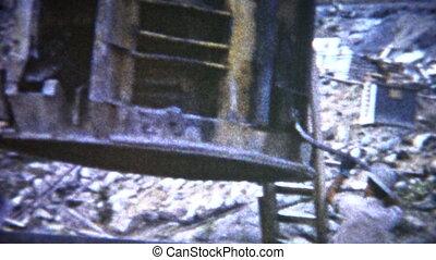 (8mm Film) Concrete Dam Building - A unique vintage 8mm home...