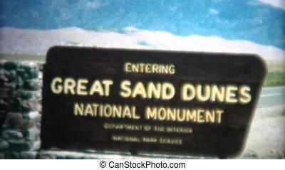 (8mm Vintage) 1966 Great Sand Dunes - Original vintage 8mm...
