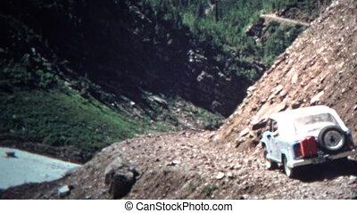 (8mm Vintage) 1966 Jeep Mountain - Original vintage 8mm home...