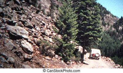 (8mm Vintage) 1966 Jeep Single - Original vintage 8mm home...