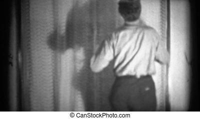 8mm, vrouwen, vintage), (1940's, man