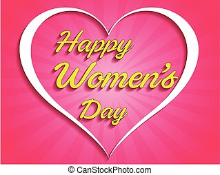 8th March. Happy Women's Day