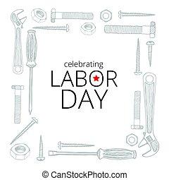 9 月, 日, 労働, 祝う, 4, 2017