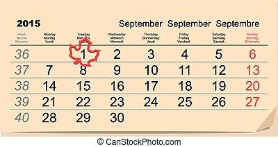9 月, 1, 学校, -, 背中