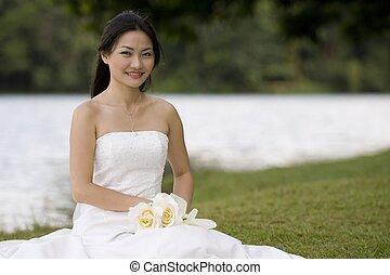 9, 花嫁, アジア人