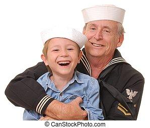 9, marynarz, syn