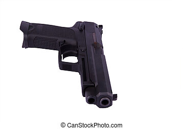 9, milímetros, pistola, pistolera