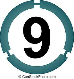 9, moderne, nombre