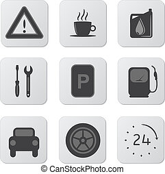 Automobile Icons