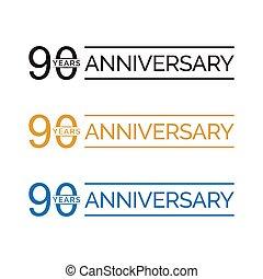 90 anniversary years