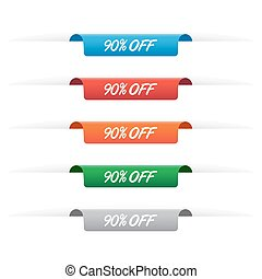 90% off paper tag labels