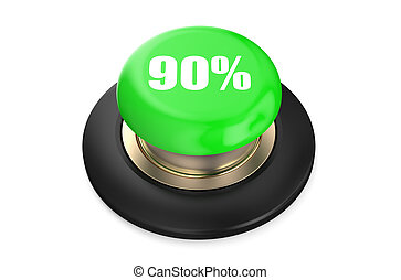 90 percent discount green button