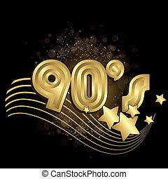 90s, 黒
